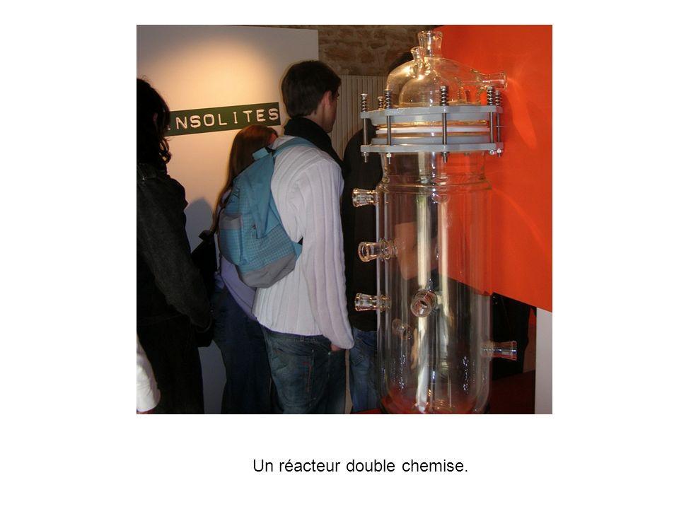 Un réacteur double chemise.
