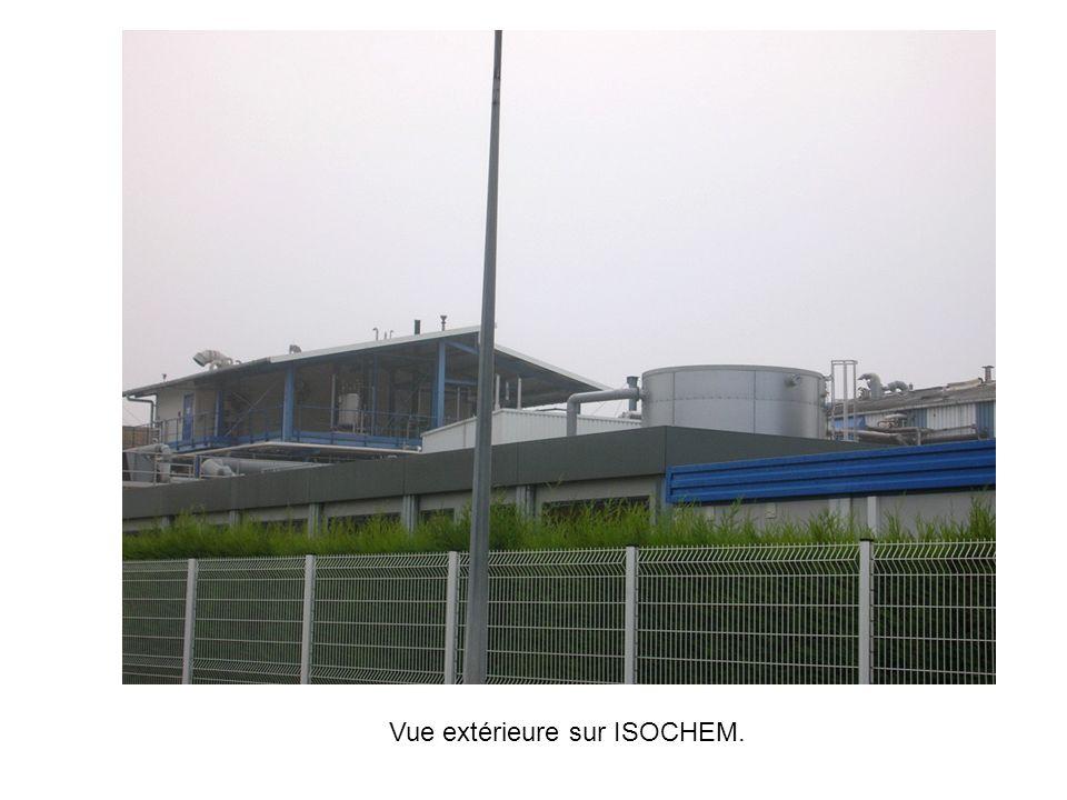 Vue extérieure sur ISOCHEM.