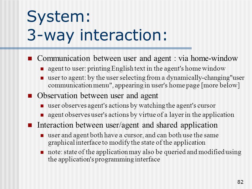 81 Algorithmes Discourse interpretation algorithm : reimplementation of Lochbaum's rgraph augmentation algorithm Discourse generation algorith the inv