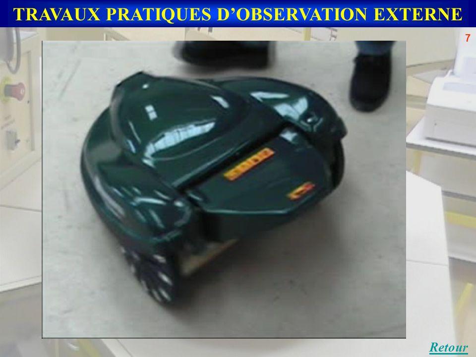 TRAVAUX PRATIQUES DOBSERVATION EXTERNE Retour 7