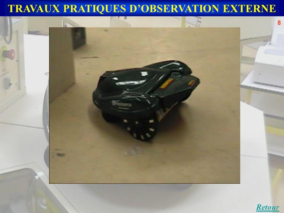 TRAVAUX PRATIQUES DOBSERVATION EXTERNE Retour 8