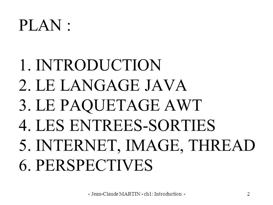 - Jean-Claude MARTIN - ch1: Introduction -3 BIBLIOGRAPHIE
