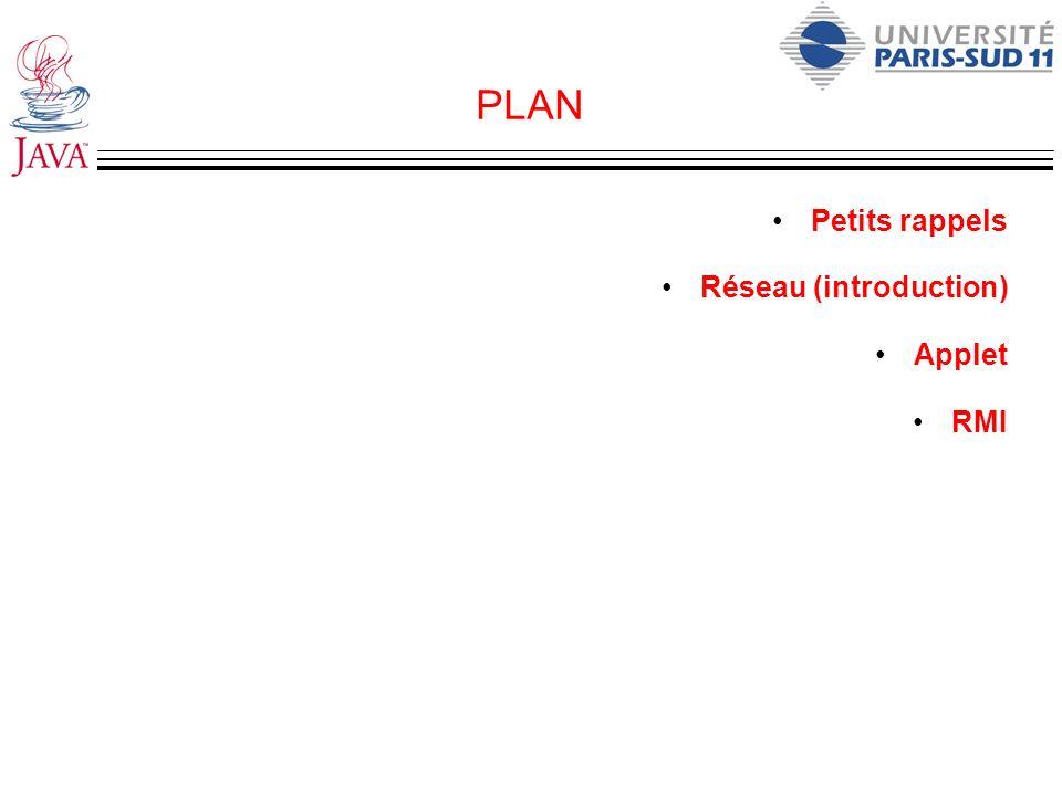 Exemple de Timer import java.util.Timer; import java.util.TimerTask public class Reminder { private Timer timer; // l attribut timer est initialisé dans le constructeur public Reminder(int seconds) { timer = new Timer(); // Définition du planning timer.schedule(new RemindTask(), seconds*1000); } // Un timer exécute une tâche de type TimerTask (comparable au // thread!).