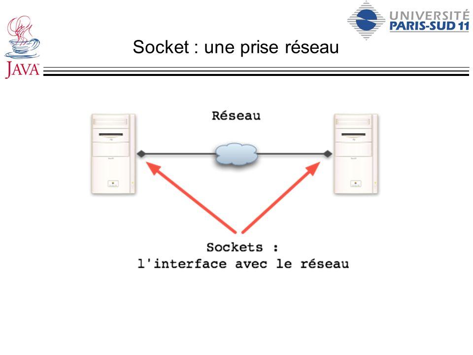 Socket : une prise réseau