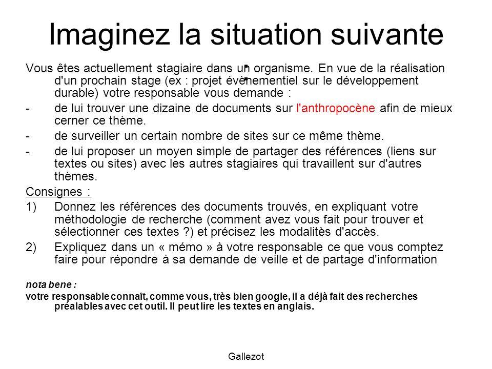 Gallezot Les catalogues ( chercher des références ) à la BU http://134.59.6.53/clientbookline/home.asp http://134.59.6.53/clientbookline/home.asp Le Sudoc, une fédération de catalogues nationaux : http://www.sudoc.abes.fr et le portail : http://www.portail-sudoc.abes.fr/http://www.sudoc.abes.frhttp://www.portail-sudoc.abes.fr/ Worldcat, une fédération de catalogues internationaux : http://www.worldcat.org/http://www.worldcat.org/