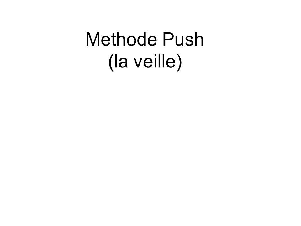 Methode Push (la veille)
