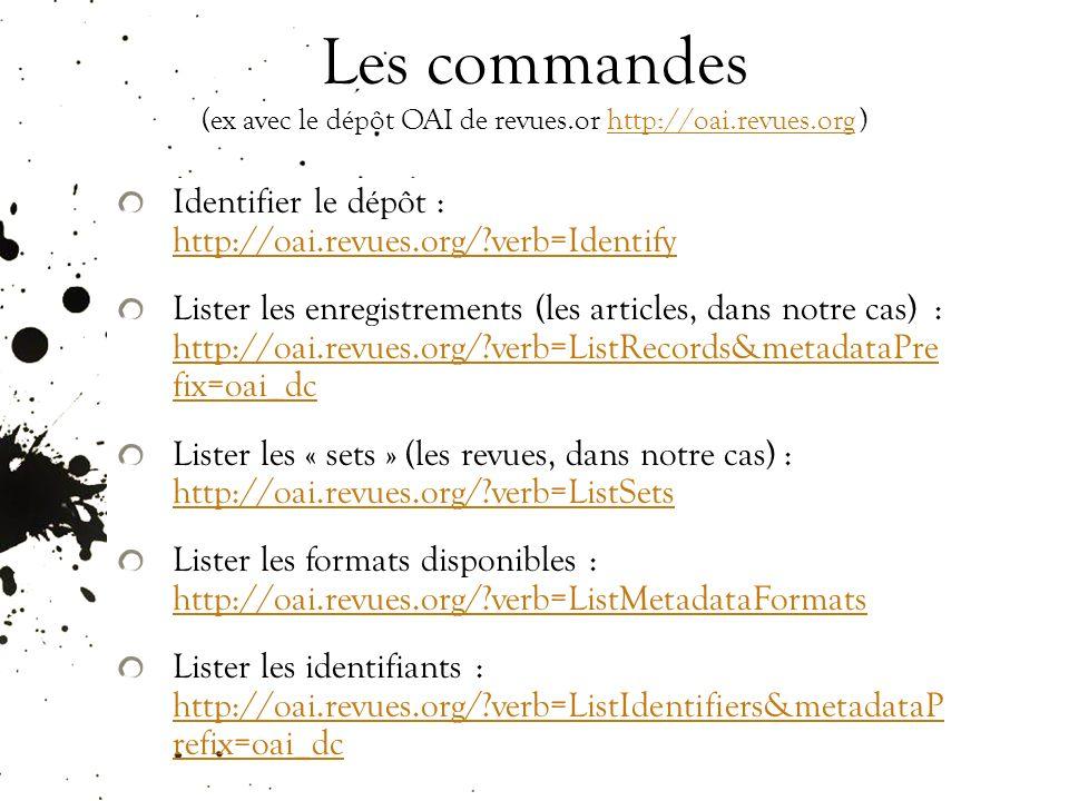 Pour suivre linfo Le blog de Peter Suber (english): http://www.earlham.edu/~peters/fos/fosblog.html http://www.earlham.edu/~peters/fos/fosblog.html site du Libre Accès à lIST (french) : http://openaccess.inist.fr/ http://openaccess.inist.fr/ un site, Digital Scholarship, http://www.digital- scholarship.org/http://www.digital- scholarship.org/ Une liste, AMERICAN-SCIENTIST-OPEN-ACCESS- FORUM, http://listserver.sigmaxi.org/sc/wa.exe?A0=american-scientist- open-access-forum&D=1&F=l http://listserver.sigmaxi.org/sc/wa.exe?A0=american-scientist- open-access-forum&D=1&F=l