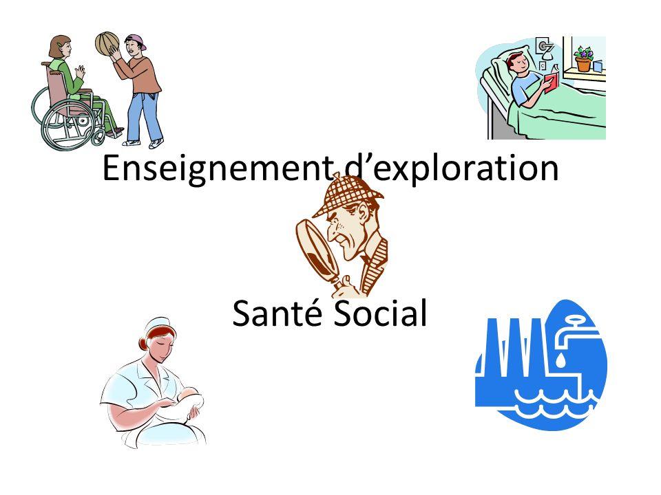 Enseignement dexploration Santé Social