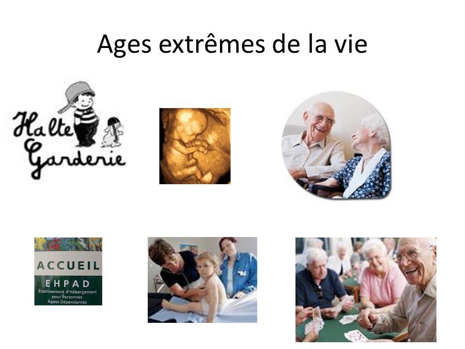 Ages extrêmes de la vie