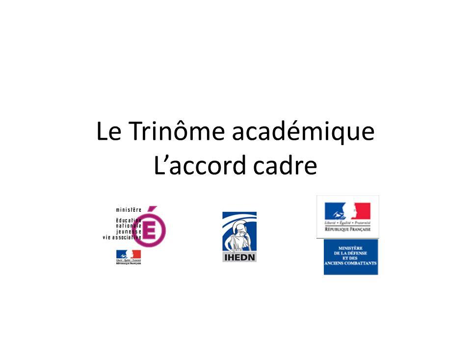 Le Trinôme académique Laccord cadre