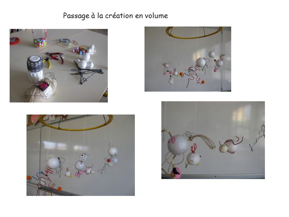 Passage à la création en volume