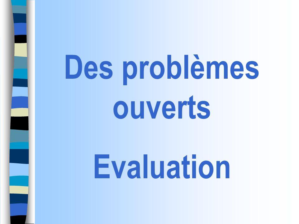 Critère et indicateur : définition Critères de réussite Tableaux récapitulatifs Indicateurs / critère Exemples