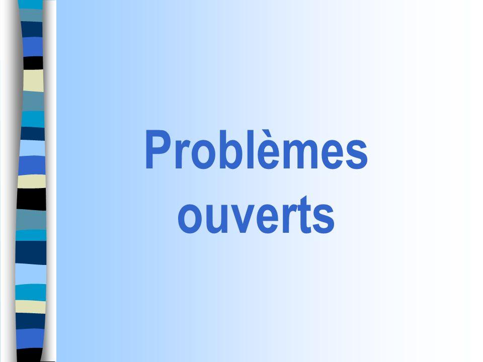 Problème ouvert : définition Situation-problème .