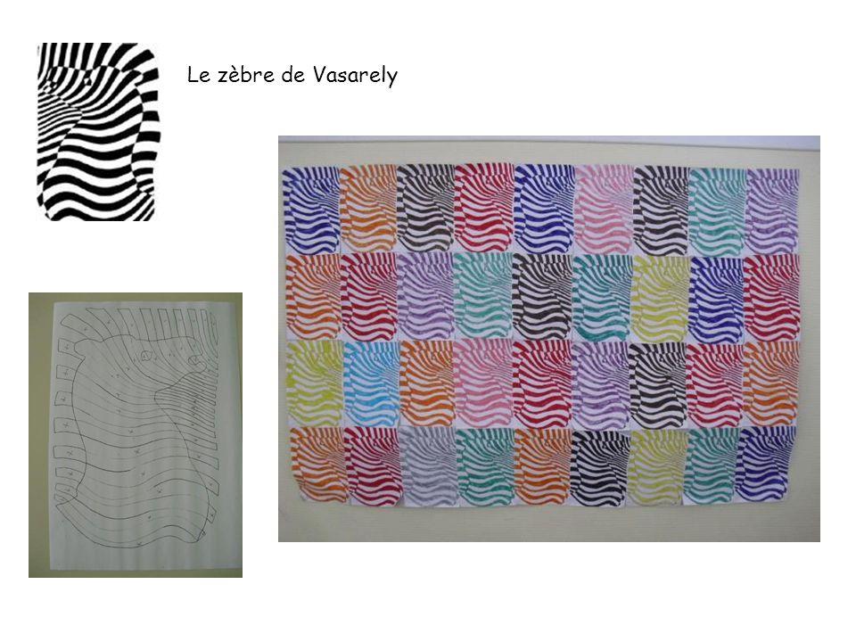Le zèbre de Vasarely
