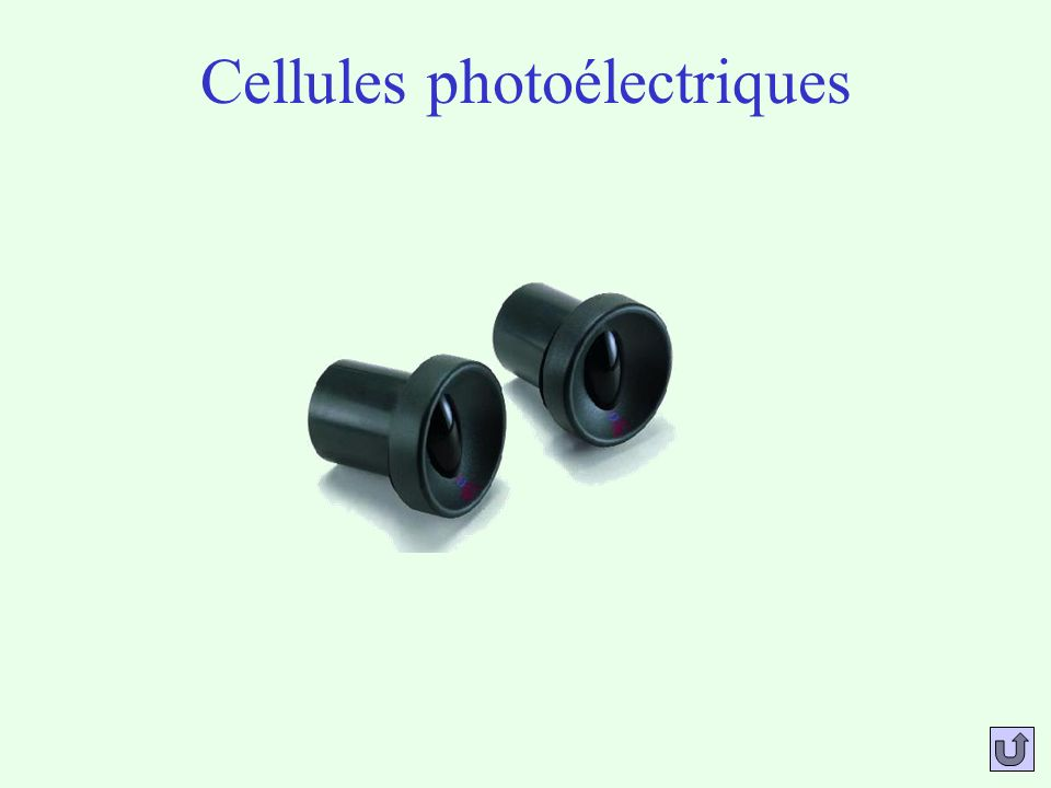 Cellules photoélectriques