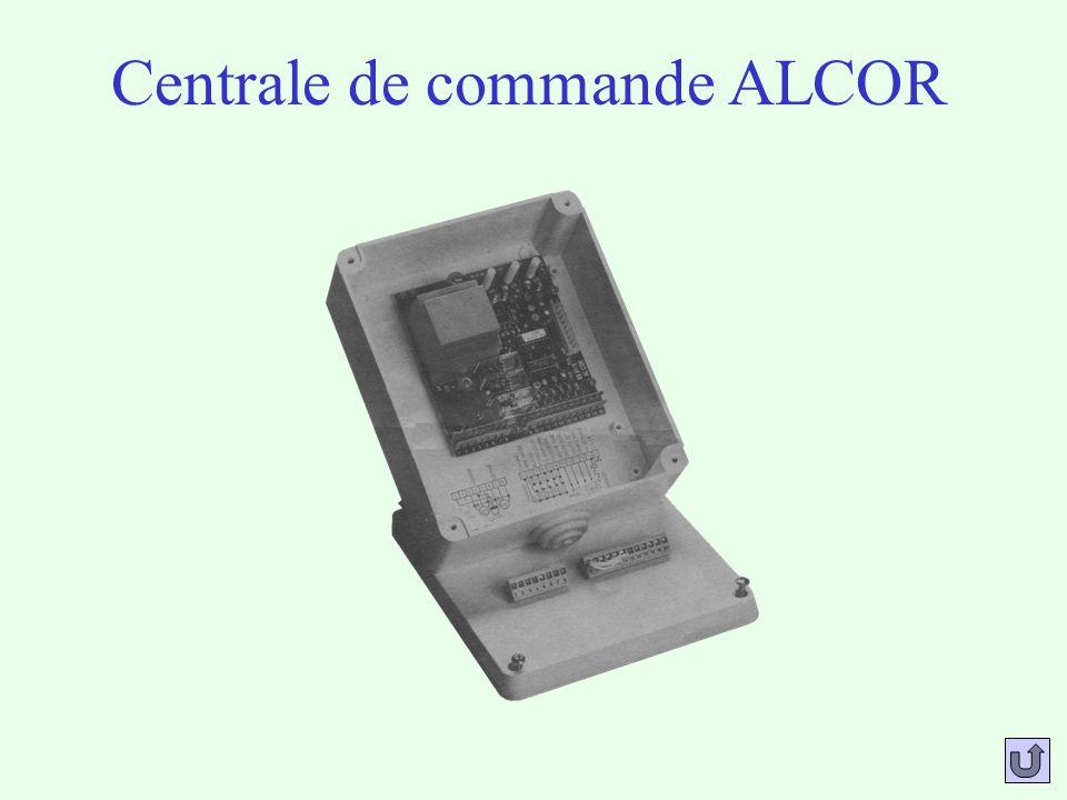 Centrale de commande ALCOR
