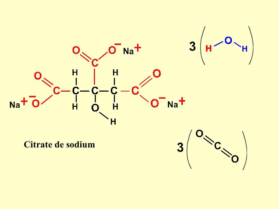 Citrate de sodium