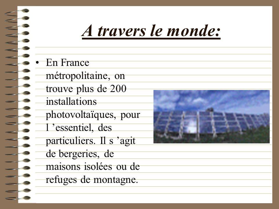 L utilisation: Souvent installés sur les toitures des bâtiments, les panneaux solaires fournissent de l éclairage et alimentent les petits appareils é