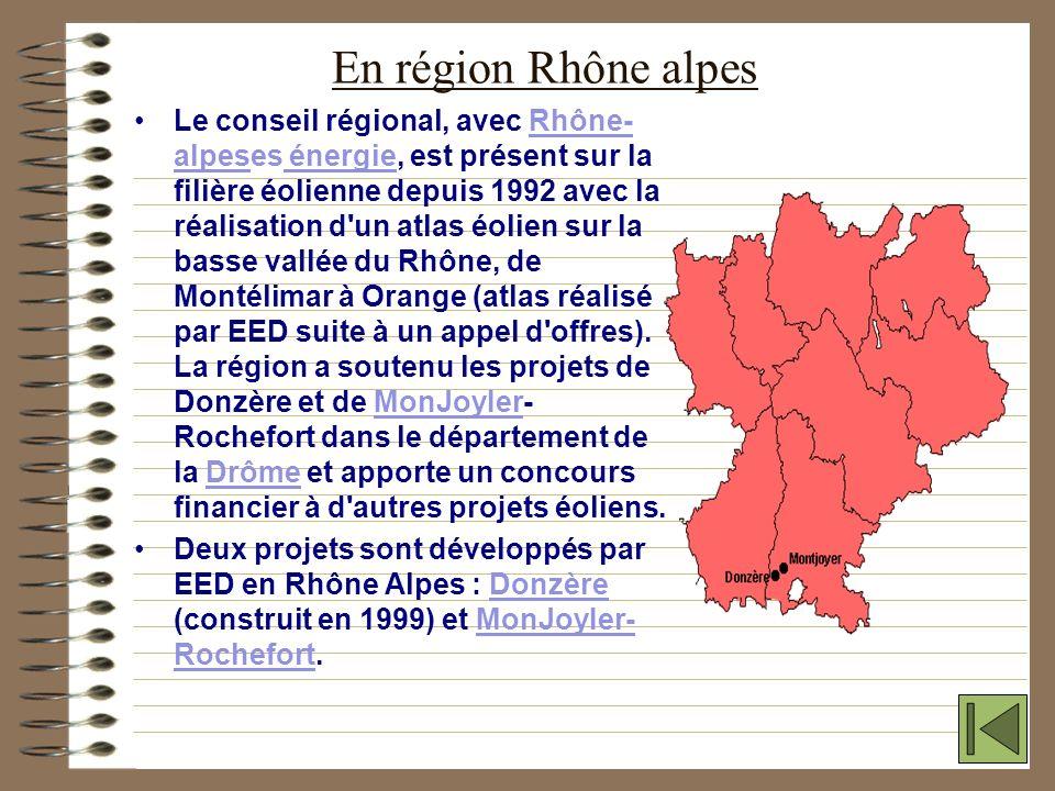 LES CENTRALES EOLIENNES ESPACE EOLIEN DEVELOPPEMENT travaille actuellement sur une quinzaine de projets de centrale éolienne dans la France entière. C