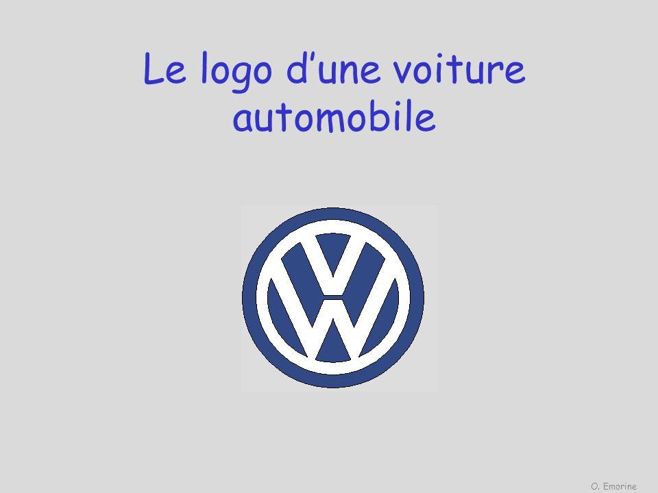 Le logo dune voiture automobile O. Emorine