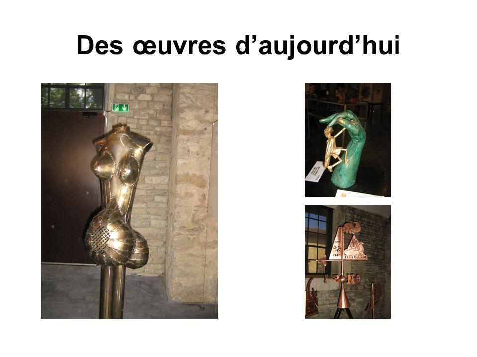 Des œuvres daujourdhui