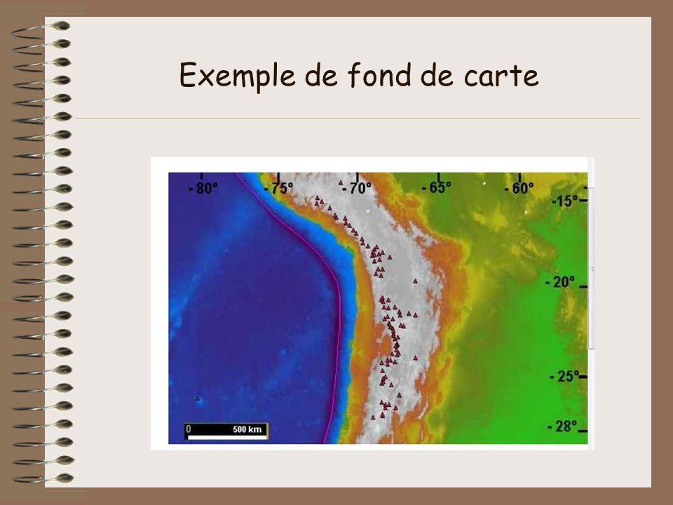 Exemple de fond de carte