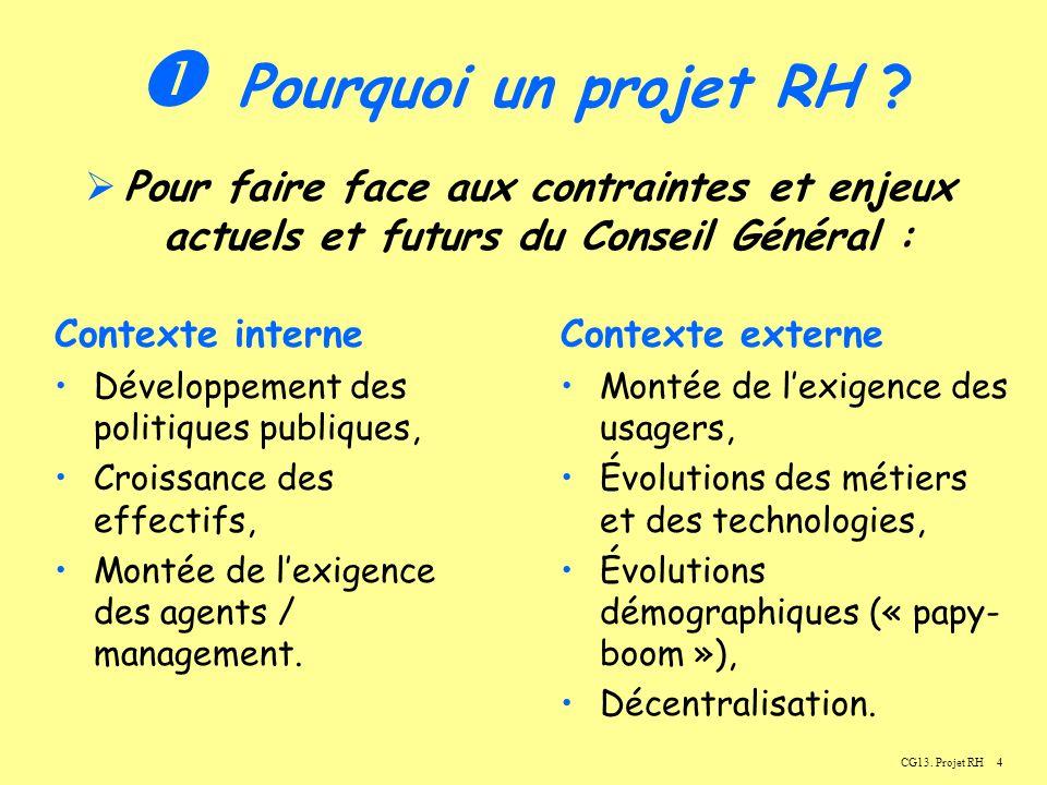 5CG13.Projet RH Pourquoi un projet RH .