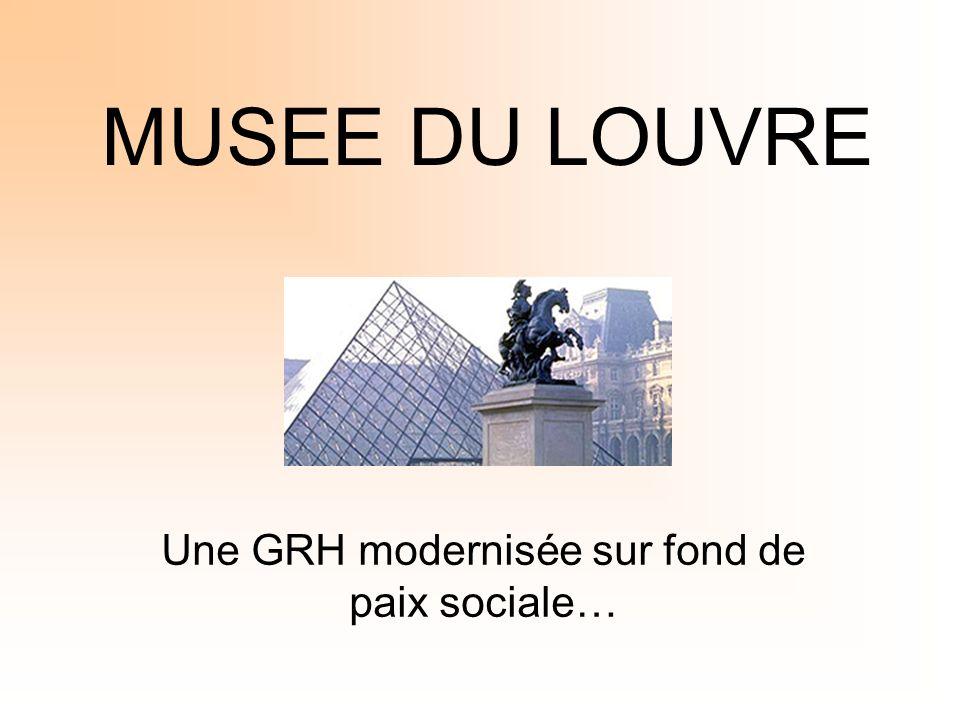 MUSEE DU LOUVRE Une GRH modernisée sur fond de paix sociale…