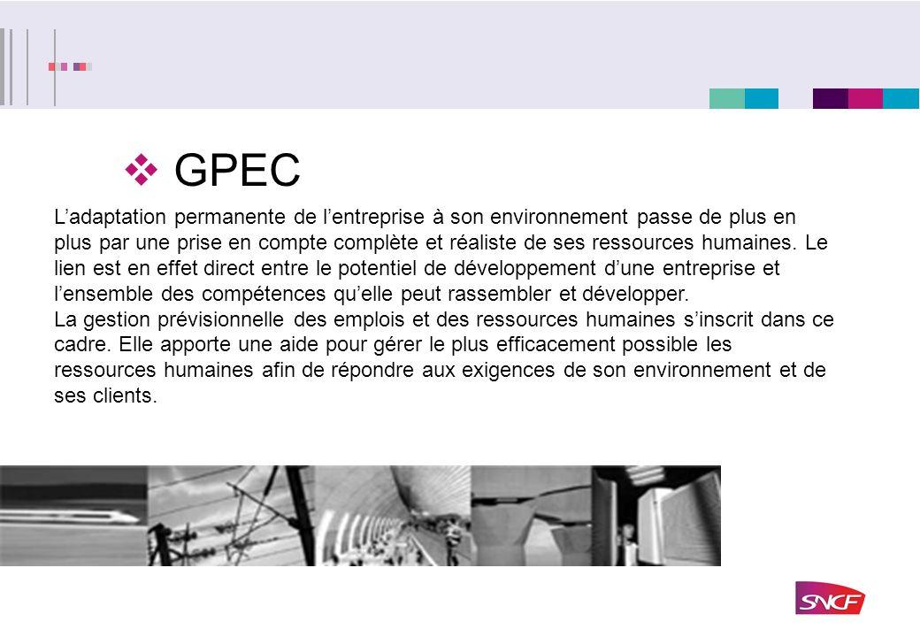 GPEC Ladaptation permanente de lentreprise à son environnement passe de plus en plus par une prise en compte complète et réaliste de ses ressources hu