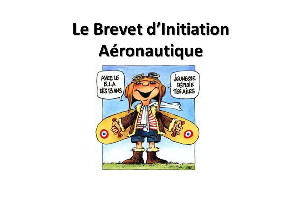 Le Brevet dInitiation Aéronautique