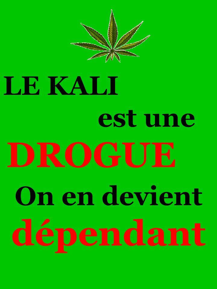 On en devient dépendant LE KALI est une DROGUE