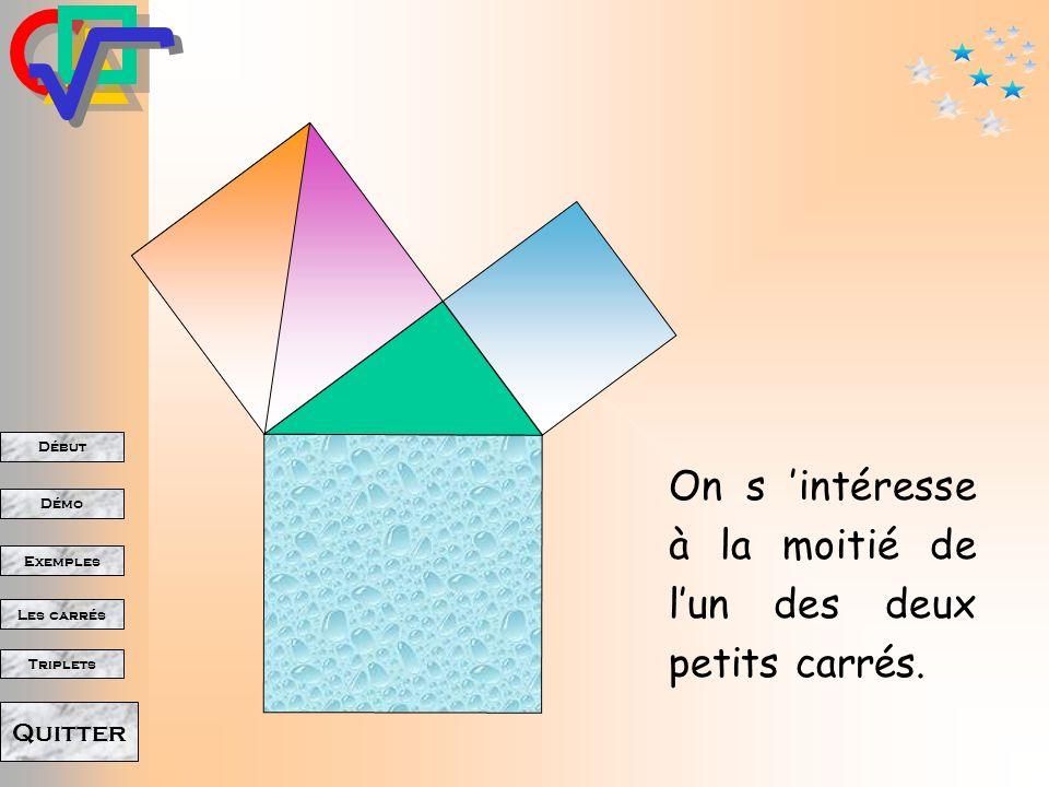 Début Démo Triplets Exemples Les carrés Quitter Voici une «démonstration»!