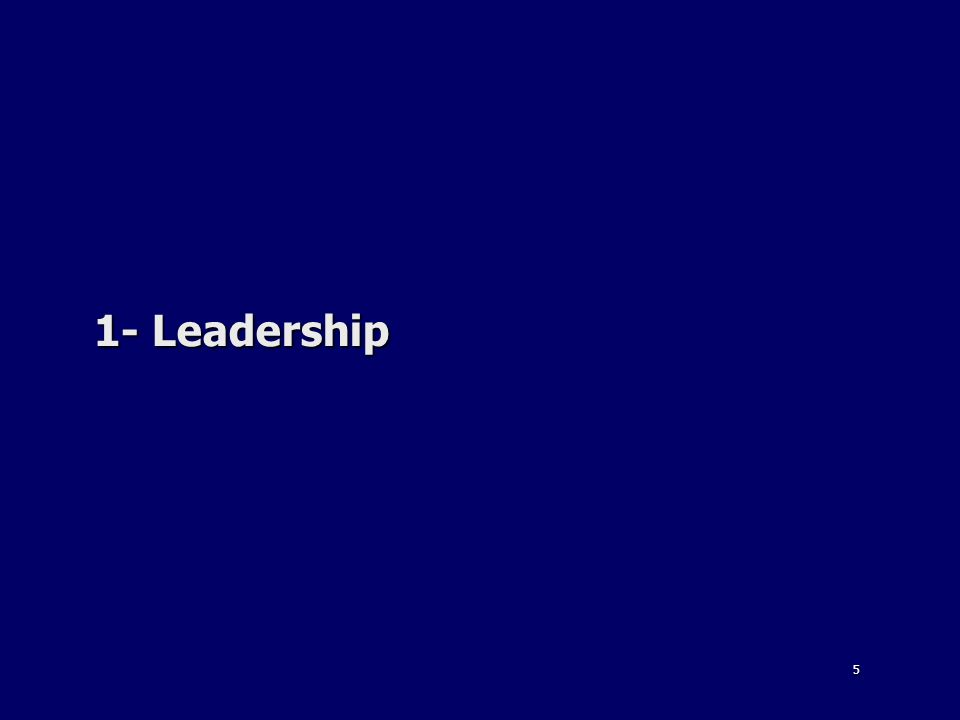 5 1- Leadership