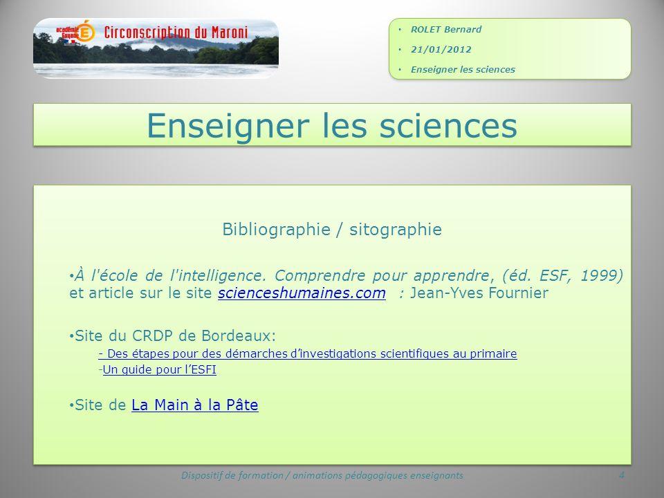 Bibliographie / sitographie À l école de l intelligence.
