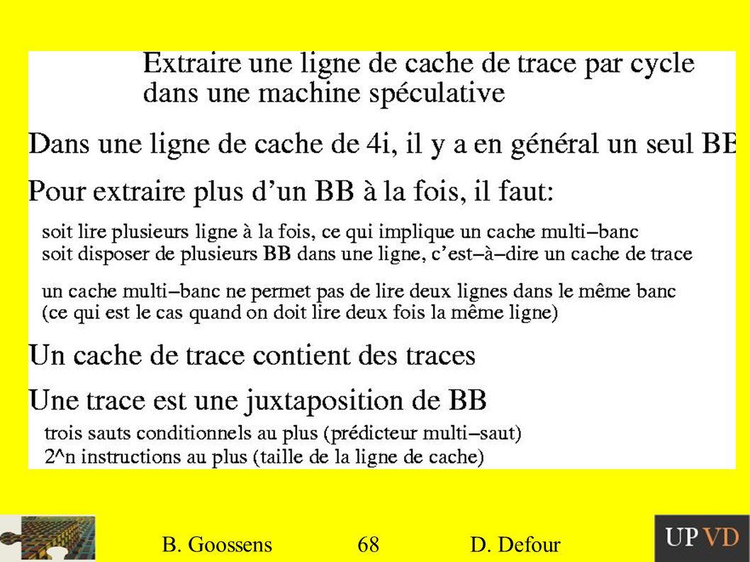 68 B. Goossens D. Defour68 B. Goossens D. Defour