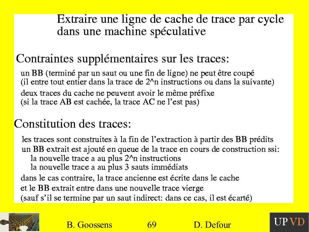 69 B. Goossens D. Defour69 B. Goossens D. Defour