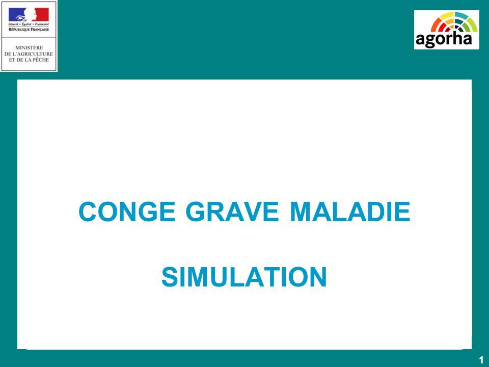 1 CONGE GRAVE MALADIE SIMULATION