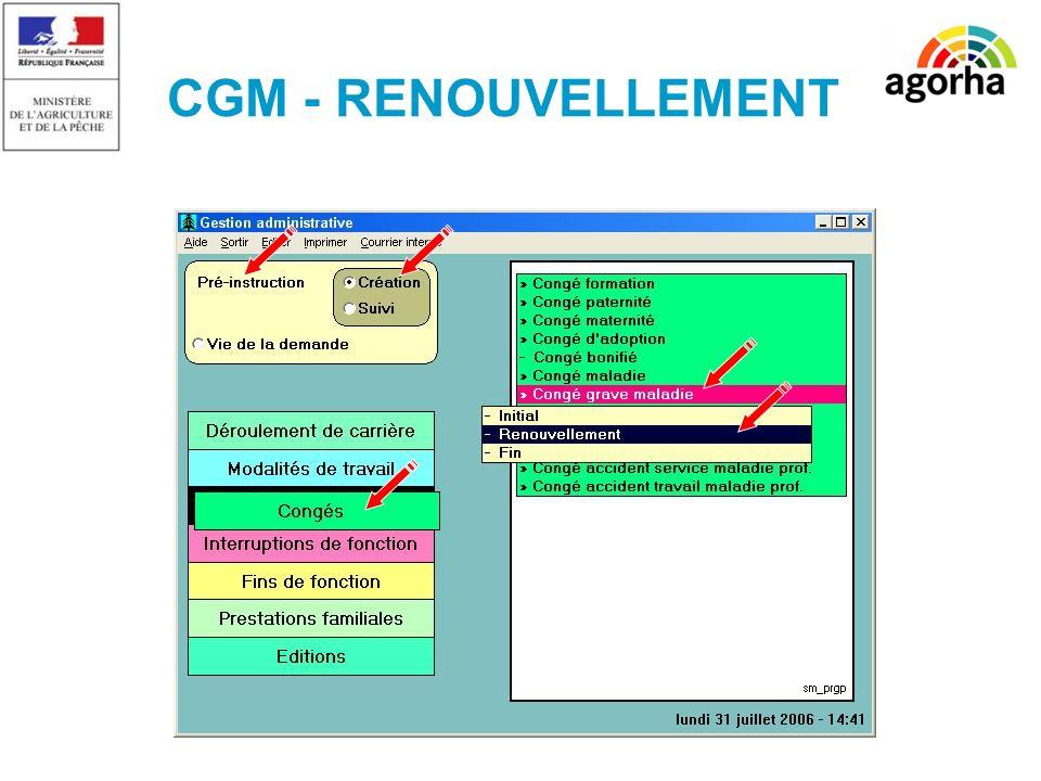 10 CGM - RENOUVELLEMENT