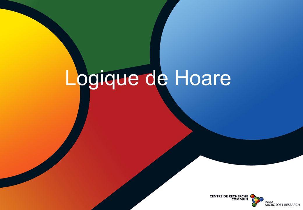 Logique de Hoare