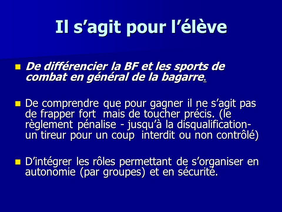 Références aux programmes Références aux programmes Nous privilégierons la pratique de la boxe française avec les plus grands aussi nous prenons comme base les programmes (projet de relecture) de cycle central pour la partie collège.