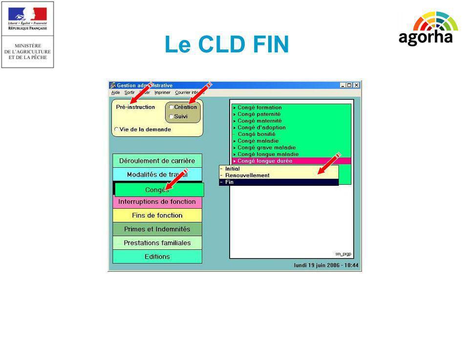 Le CLD FIN