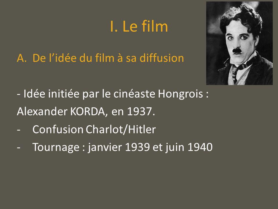 II.La représentation dHitler, à travers Le Dictateur.