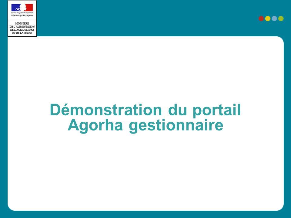 Démonstration du portail Agorha gestionnaire