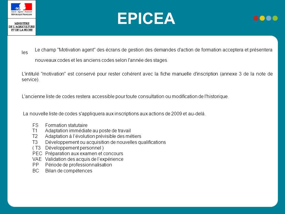 EPICEA Le champ