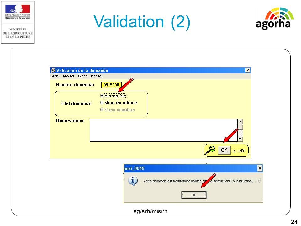 24 sg/srh/misirh Validation (2)