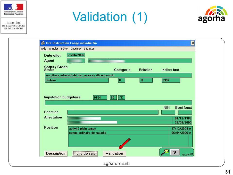 31 sg/srh/misirh Validation (1)