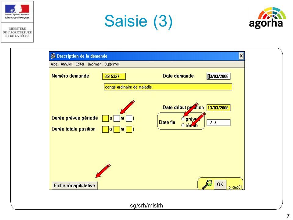18 sg/srh/misirh Saisie (2)