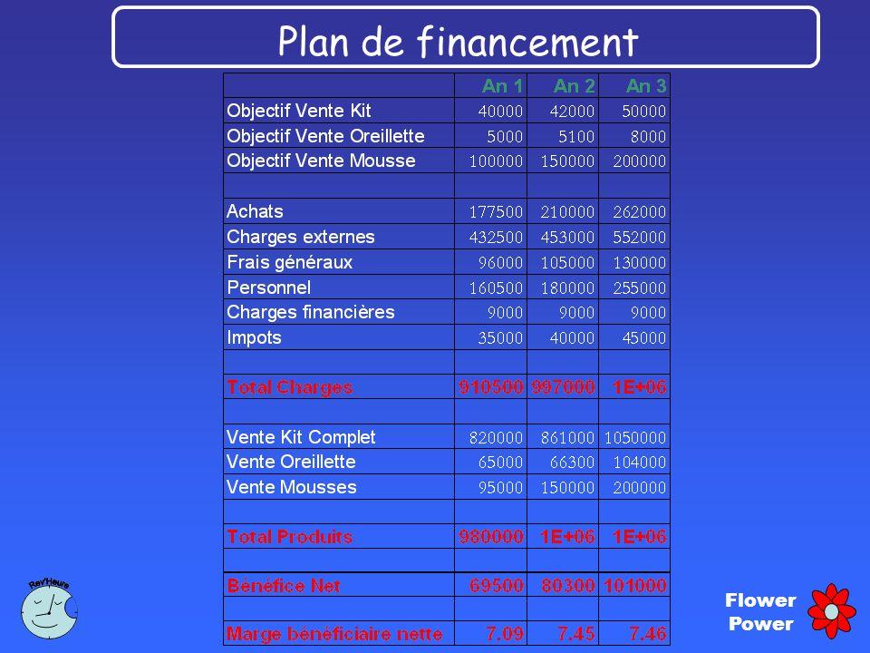 Flower Power Plan de financement