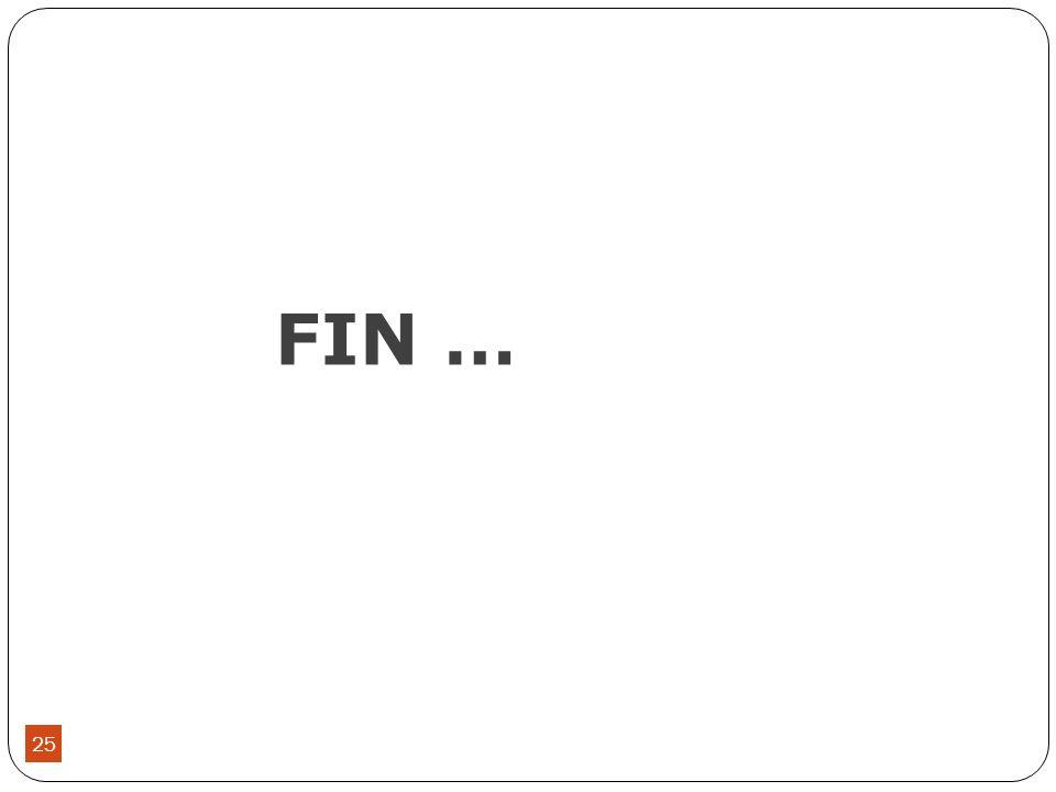 FIN … 25