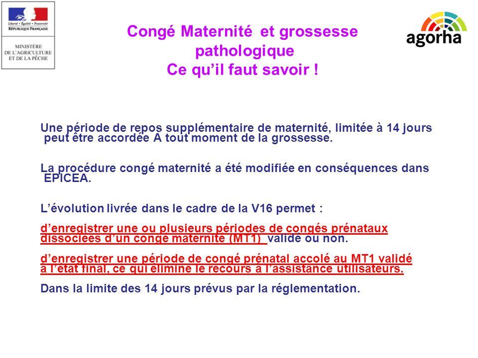 sg/srh/misirh TRES IMPORTANT Les femmes dont la grossesse pathologique est liée à lexposition au DISTILBENE in utero entre 1948 et 1981 bénéficie dun congé maternité dès le premier jour de leur arrêt de travail.